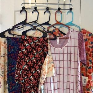 Lularoe 7 Piece NWT L and XL and TC Leggings
